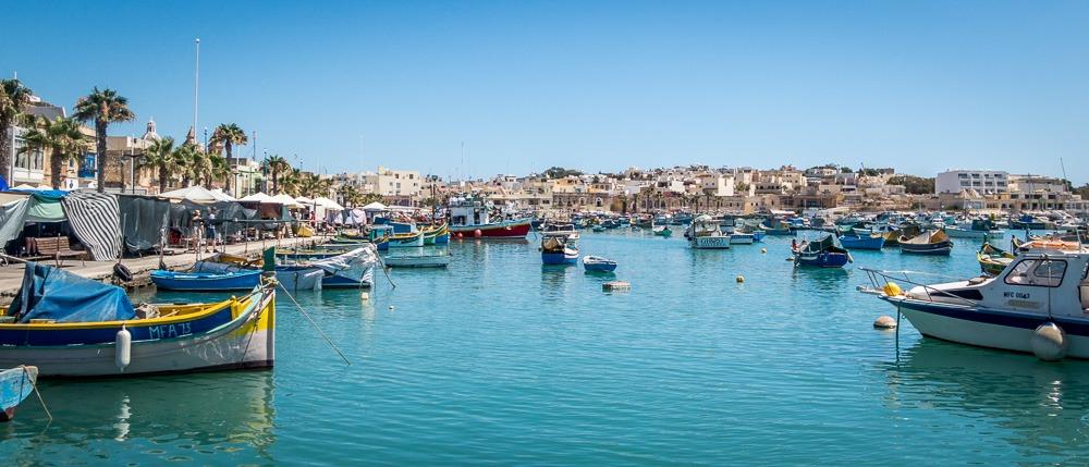 Maché aux poissons de Marsaxlokk - Malte