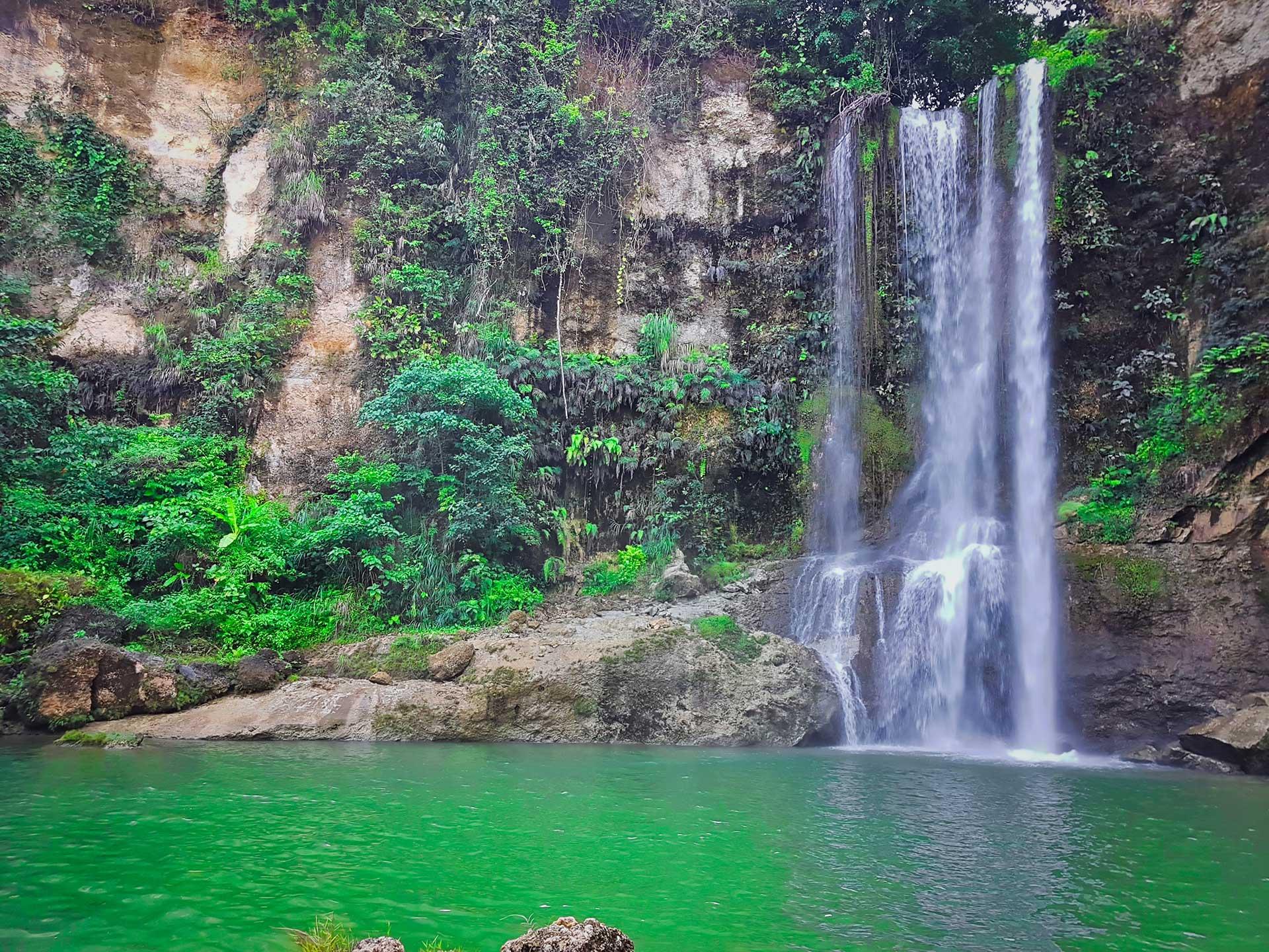 Les chutes de Camugao